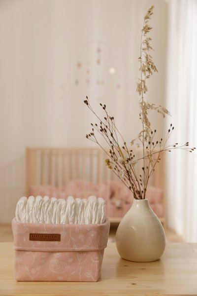 Little Dutch - Pojemnik na Akcesoria Wild Flowers Pink