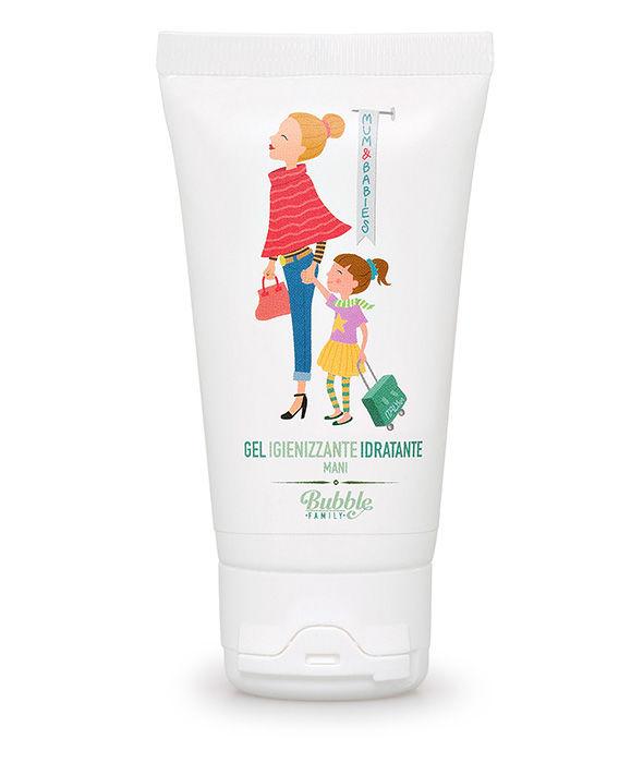 Bubble&CO - Organiczny Dezynfekujący i Nawilżający Żel do Rąk 50 ml Mum & Babies