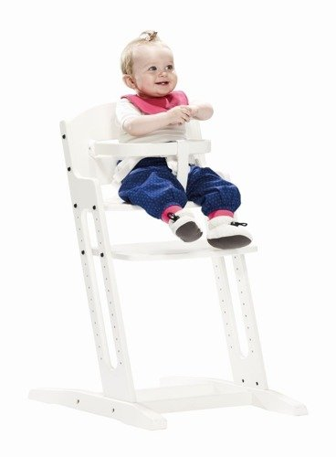 Baby Dan - Krzesełko do Karmienia Baby Dan DANCHAIR Białe