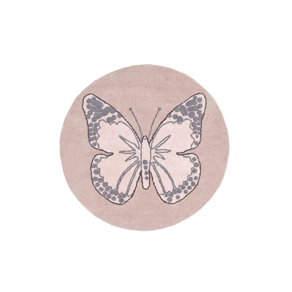 Lorena Canals - Dywan do Prania w Pralce Butterfly Nude