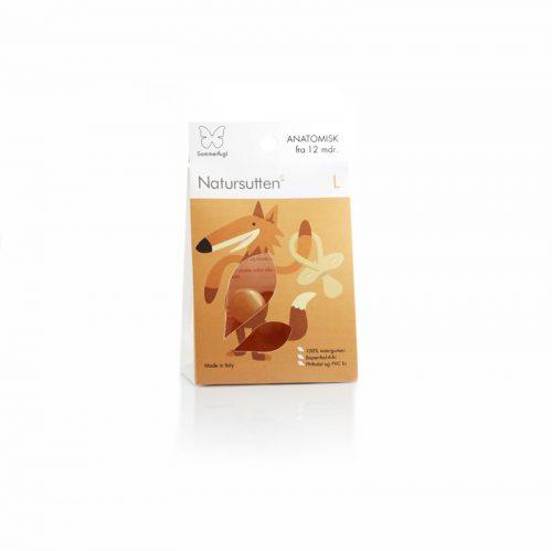 .Natursutten - Smoczek Ortodontyczny Motylek L