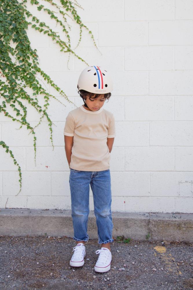 Banwood - Dziecięcy Kask Rowerowy Stripes 3+