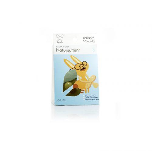 .Natursutten - Smoczek Klasyczny Motylek M