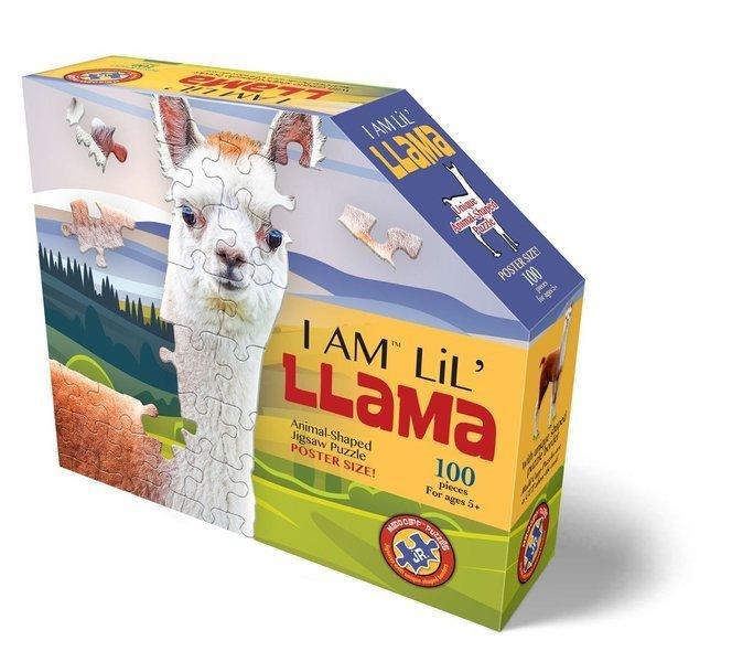 Madd Capp - Puzzle Konturowe I AM Lama 100 elem. 5+