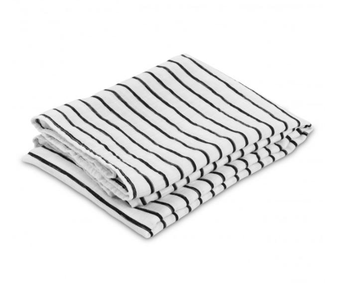 Lulujo - Modern Kocyk Bambusowy Stripe