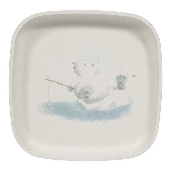 Little Dutch - Zestaw Obiadowy Bambusowy Polar Bear