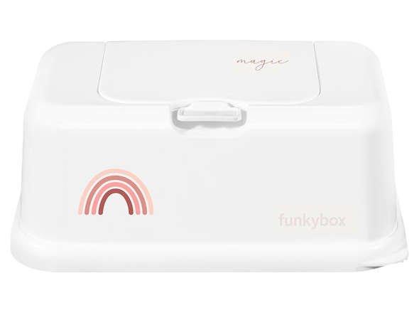 Funkybox - Pojemnik na Chusteczki Pink Rainbow