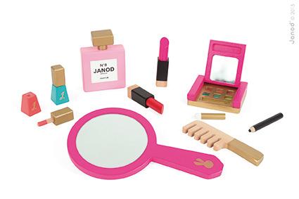 Janod - Kosmetyczka z Akcesoriami Małej Miss