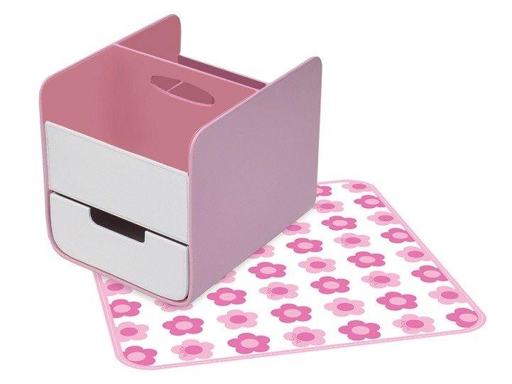 B. Box - Przenośny Organizer na Akcesoria Niemowlęce Pretty in Pink
