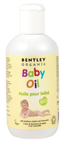 Bentley Organic - Dziecięcy Olejek Pielęgnacyjny z Wyciągiem ze Słonecznika