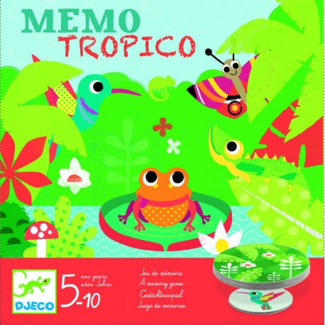 Djeco - Memo Tropiki 5+