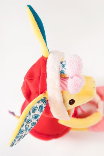 Lilliputiens - Przytulanka Aktywizująca do Nauki Ubierania Żyrafka Zia 2+