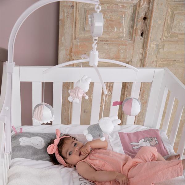 Tiamo - Karuzela do Łóżeczka Miffy Pink Babyrib