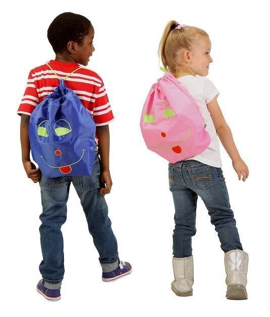Potette Plus - Worek-Plecak Przedszkolaka Różowy