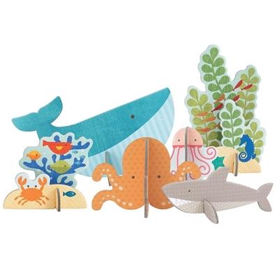 Petit Collage - Puzzle Przestrzenne Ocean