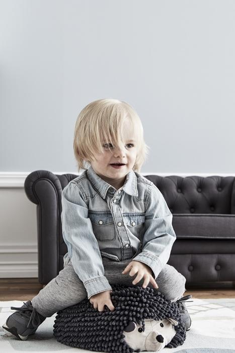 Kids Concept - Edvin Siedzisko Puf Jeżyk