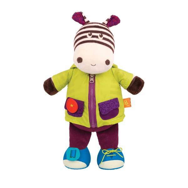 B. Toys - Chichotek z Suwakiem Zebra