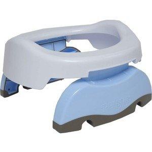 Potette Plus - Nocnik dla Dziecka i Nakładka na Toaletę Biało-niebieski