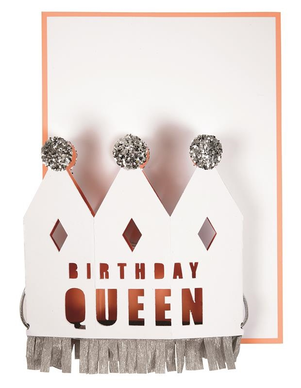 Meri Meri - Kartka Okolicznościowa 3D Birthday Quee