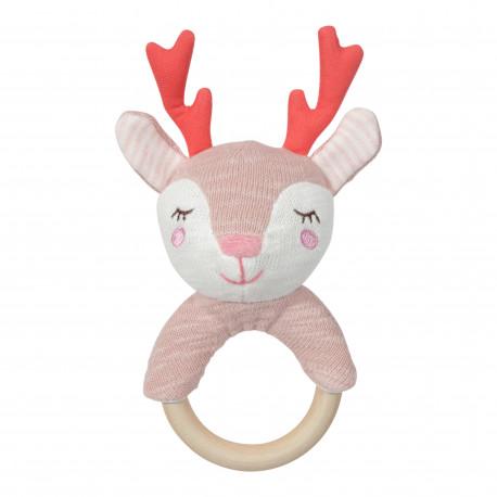 Tiamo - Grzechotka Gryzak Klonowy Dreamy Deer