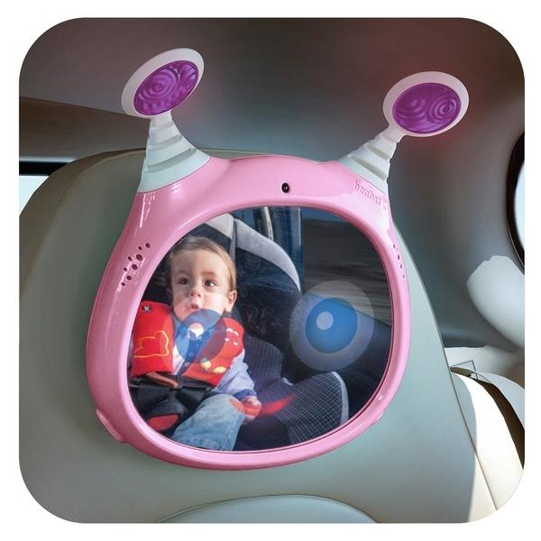 Benbat - Aktywne Lusterko do Samochodu Różowe