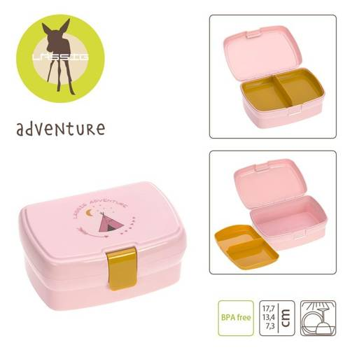 Lassig - Lunchbox z Wkładką Adventure Tipi