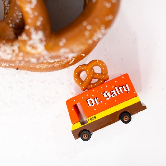 Candylab - Samochód Drewniany Pretzel Van