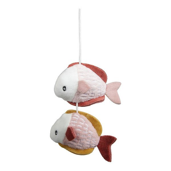 Little Dutch - Karuzela do Łóżeczka Biała Ocean Róż 0m+