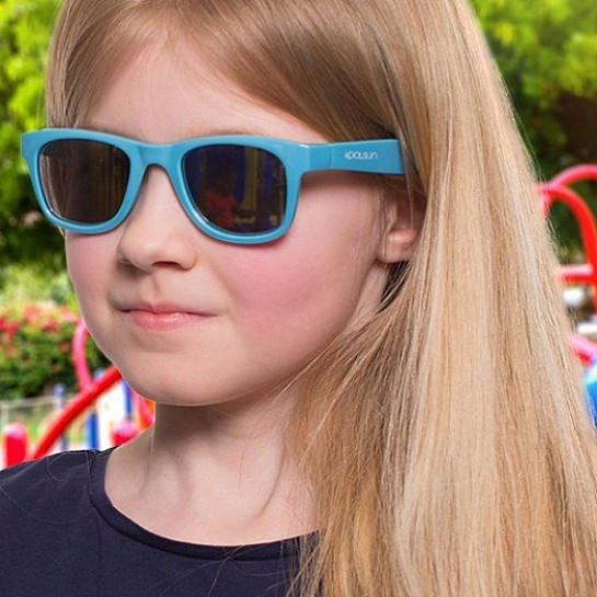 Koolsun - Okularki dla Dzieci Wave Cendre Blue 1-5 lat