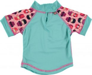 Close - Koszulka do pływania UPF50+ Kokeshi Doll XL 2-3lata