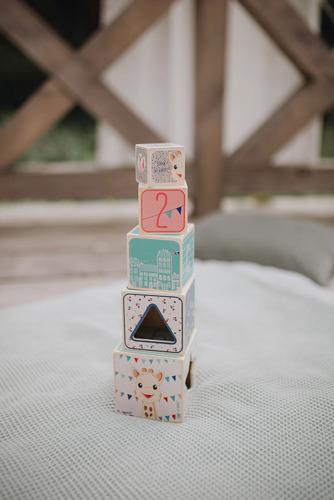 Janod - Piramida Wieża Drewniana Żyrafka Sophie