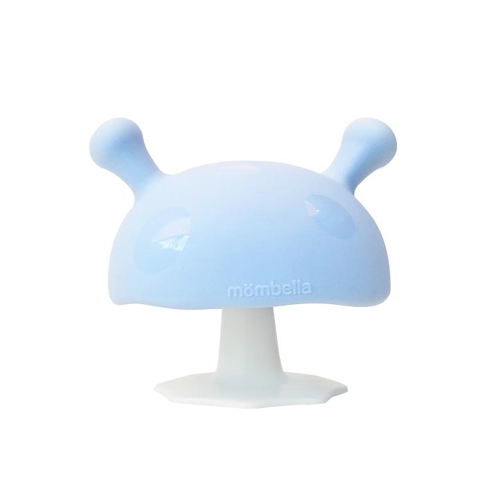 Mombella - Gryzak Uspokajający Mushroom Light Blue