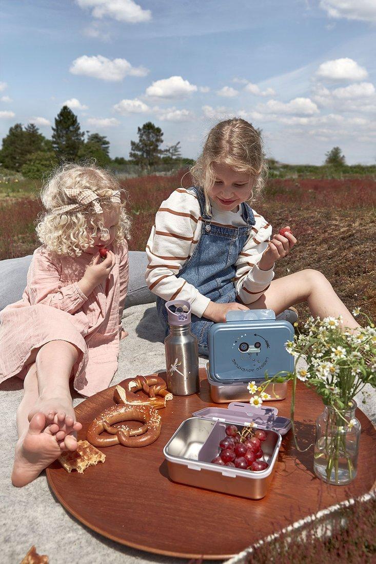 Lassig - Lunchbox ze Stali Nierdzewnej Adventure Traktor
