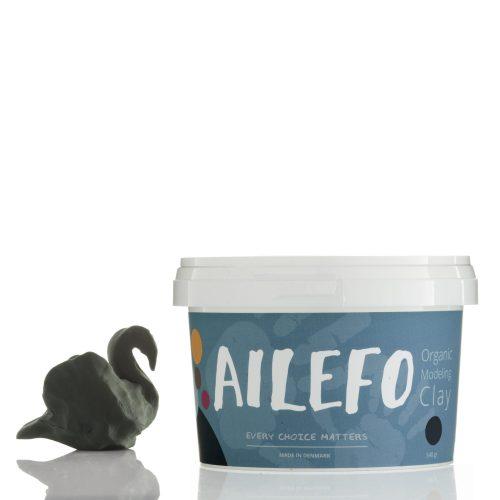 Ailefo - Organiczna Ciastolina Duże Opakowanie Zieleń 540g