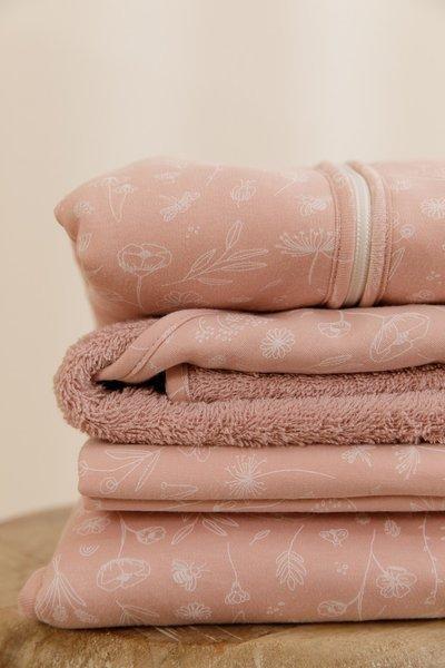 Little Dutch - Lekki Śpiworek Bawełniany 90 cm Wild Flowers Pink