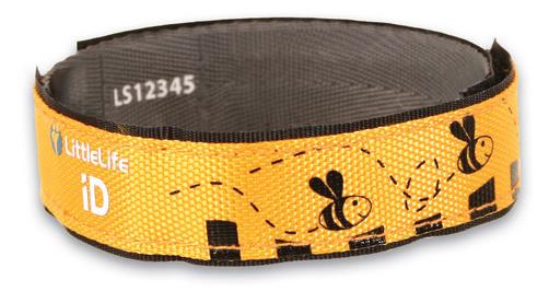 LittleLife - Opaska Informacyjna Infoband Pszczółka