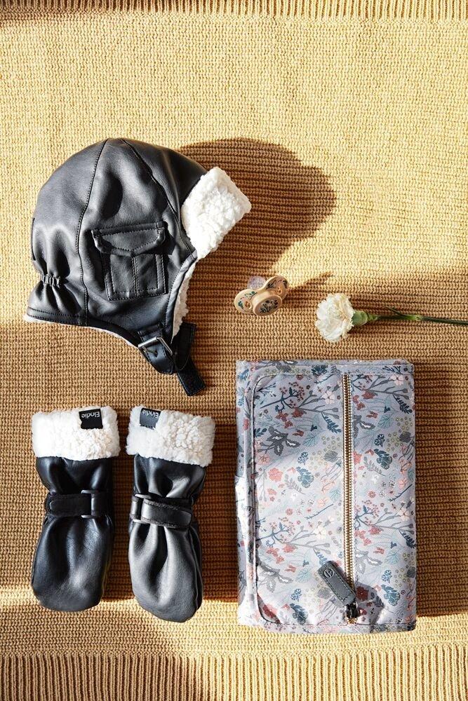 Elodie Details - Rękawiczki Aviator Black 1-3 lata
