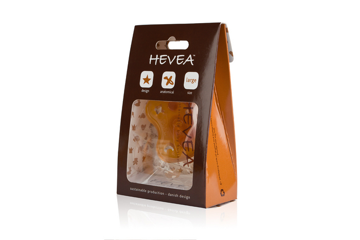 Hevea - Smoczek Anatomiczny Niebo w Nocy 0-3mies