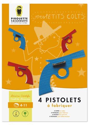 Pirouette Cacahouete - Zestaw Tekturowych Rewolwerów 6+