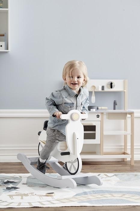Kids Concept - Skuter na Biegunach Grey