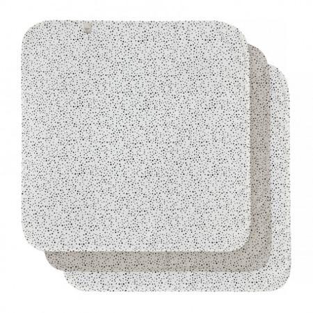 Bebe-Jou - Otulacze Bambusowo-muślinowe 70 x 70 cm Fabulous Dots 3szt