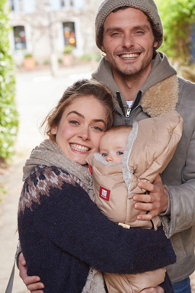 Red Castle - Śpiwór Zimowy do Wózka i Fotelika Babynest 0-6m Heather Grey