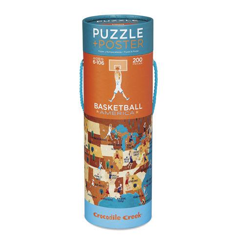 Crocodile Creek - Puzzle 200el. Koszykówka