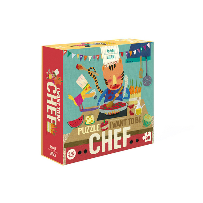 Londji - Puzzle I Want to be Chef 3+