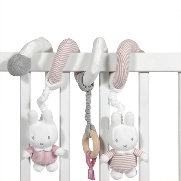 Tiamo - Spiralka dla Niemowląt Miffy Pink Babyrib