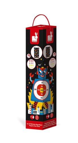 Janod - Magnetyczna Gra w Rzutki Roboty