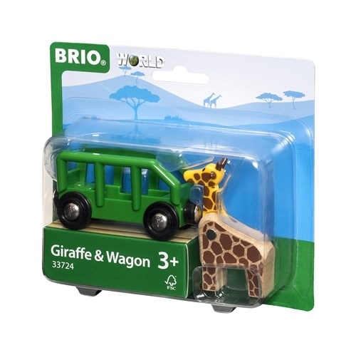BRIO - World Wagon z Żyrafą Safari