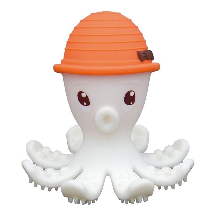 Mombella - Gryzak Zabawka Ośmiornica Orange