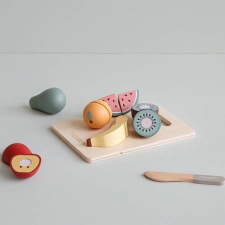 Little Dutch - Deska do Krojenia z Owocami 2+