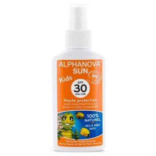 Alphanova Bebe - Alphanova Sun KIDS Bio Spray Przeciwsłoneczny Filtr 30